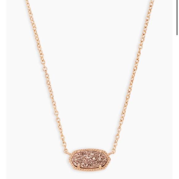 Kendra Scott Elisa Rose Gold Necklace